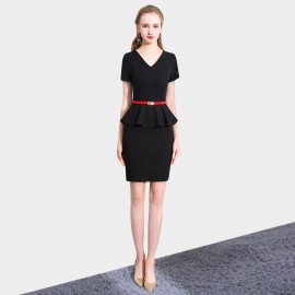 SSXR Timeless Touch Black Dress (5516)