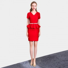 SSXR Timeless Touch Red Dress (5516)