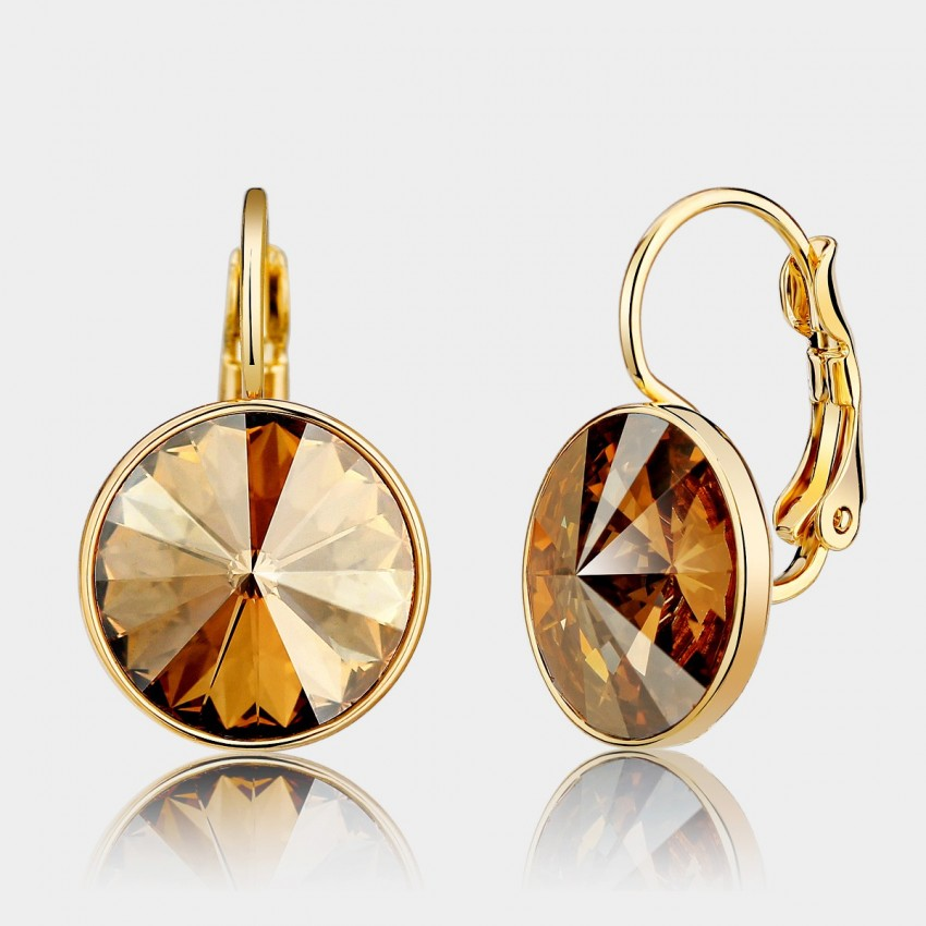 Caromay Beauty From Comet Gold Earrings (E0240)