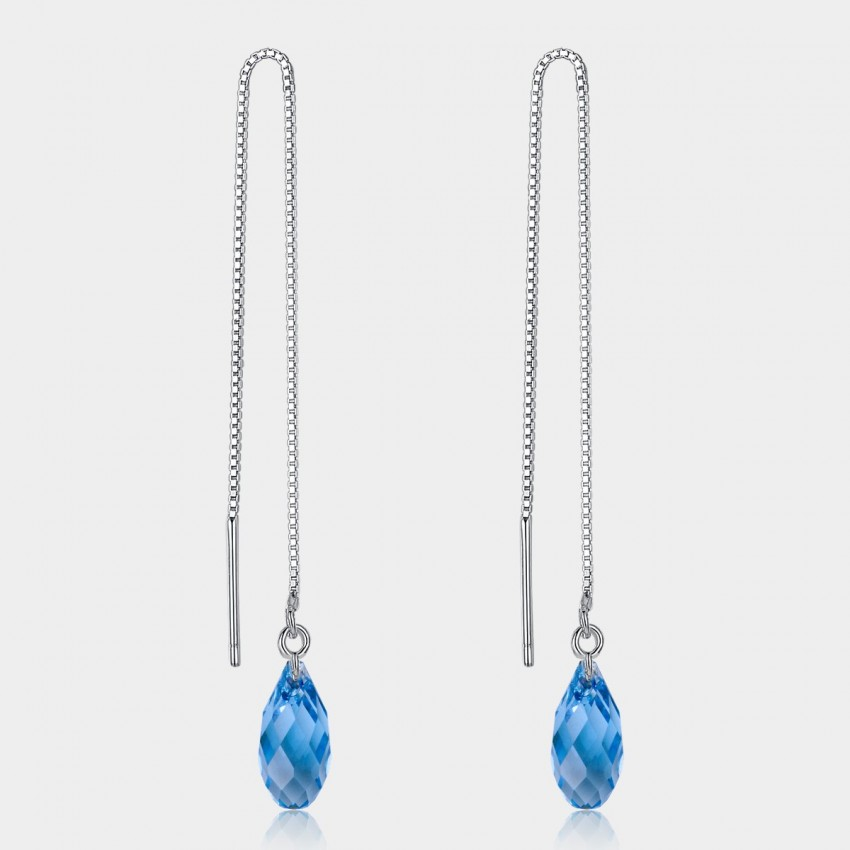 Caromay Discovered Talent Sapphire Earrings (E0500)