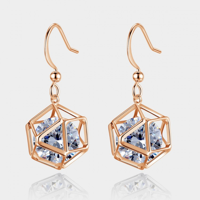 Caromay Da Vinci Code Rose Gold Earrings (E0520)