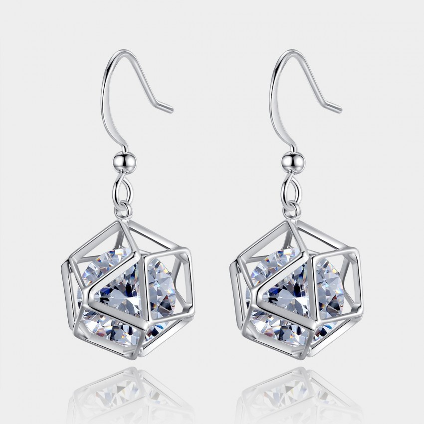 Caromay Da Vinci Code Silver Earrings (E0520)