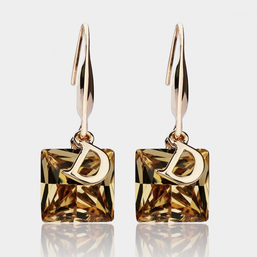 Caromay Crystal D Brown Earrings (E3829)