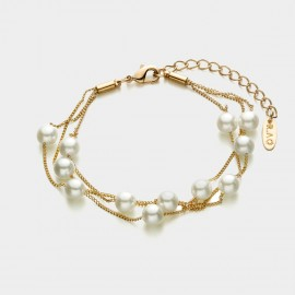 Caromay Love Nest Rose Gold Bracelet (H0068)