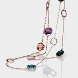 Caromay A Riot of Colours Multi Long Chain (X0622)