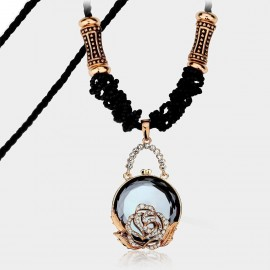 Caromay Secret Garden Blue Long Chain (X3807)